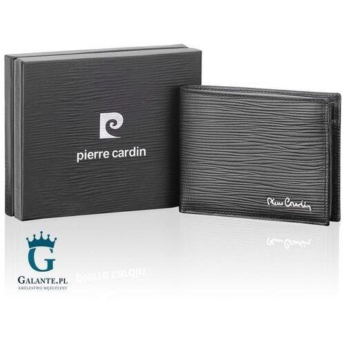 Czarny portfel męski Pierre Cardin TILAK10 8806, TILAK10 8806
