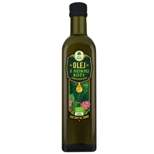 Olej z dzikiej róży bio 250 ml - dary natury marki Dary natury - test