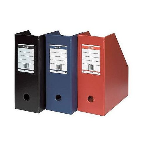 Pojemnik na czasopisma 70mm czerwony 100400623 marki Elba