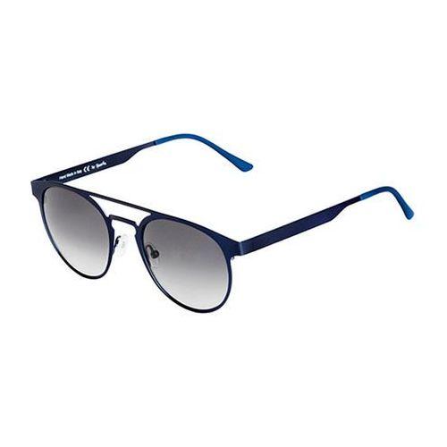 Okulary słoneczne doppio ponte metal dm03a/blue navy (gradient smoke) marki Spektre