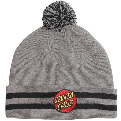 Czapka zimowa - classic dot bobble dark heather (bobble) rozmiar: os marki Santa cruz