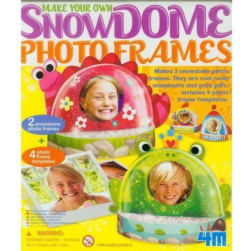 Zrób to sam - śnieżne kule - ramki na zdjęcia - marki 4m