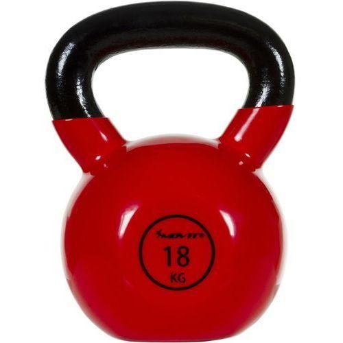 Movit® hantla żeliwna kula kettlebell ketla 18kg - 18 kg marki Movit ®