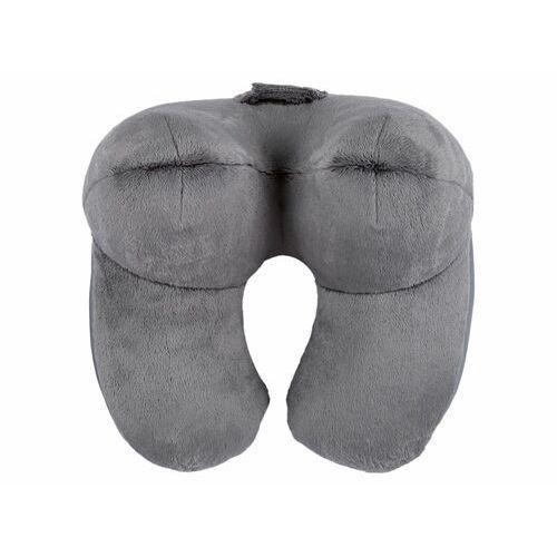 Meradiso® 3-wymiarowa poduszka podróżna pod szyję, 1 sztuka (szary) (4056233897326)