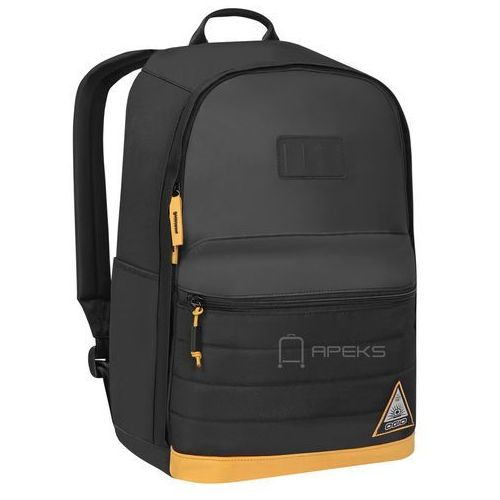 Ogio Lewis plecak miejski na laptopa 15'' / czarno - pomarańczowy - Black / Matte