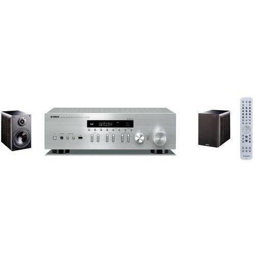 Zestaw stereo YAMAHA R-N402D SR + INDIANA LINE Nota 260 Czarny (2902806605107)