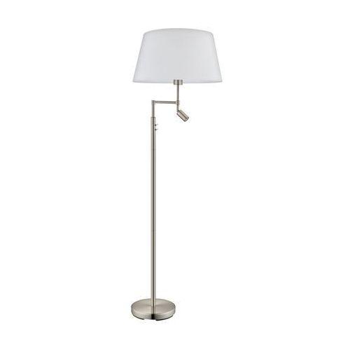 Eglo 94946 - Lampa podłogowa SANTANDER 1xE27/60W + 1xLED/2,1W (9002759949464)