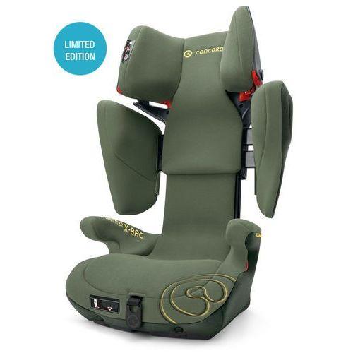 Concord  fotelik samochodowy transformer x-bag jungle green limited edition, kategoria: foteliki grupa ii i iii