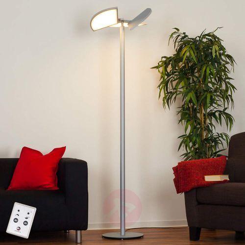 Lampenwelt.com Aurela – lampa stojąca led z obracanymi elementami