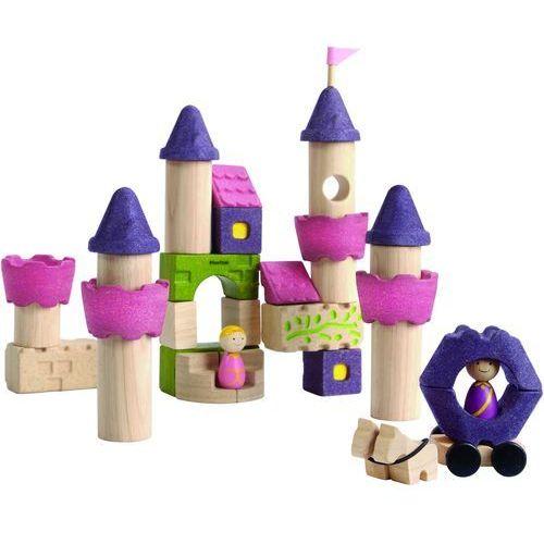Plan toys zamek fairy z klocków (8854740056504)