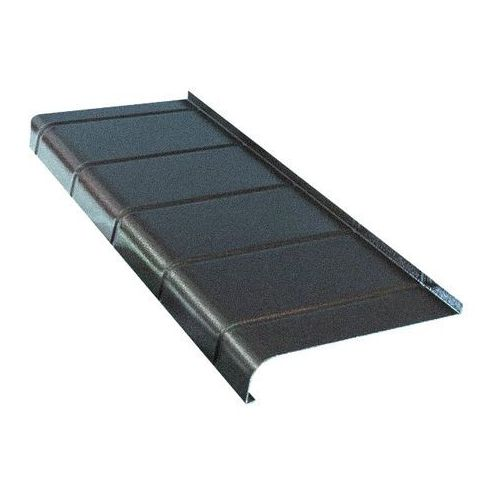 Parapet zewnętrzny aluminiowy Fola 25 x 120 cm antracyt (5906725248923)