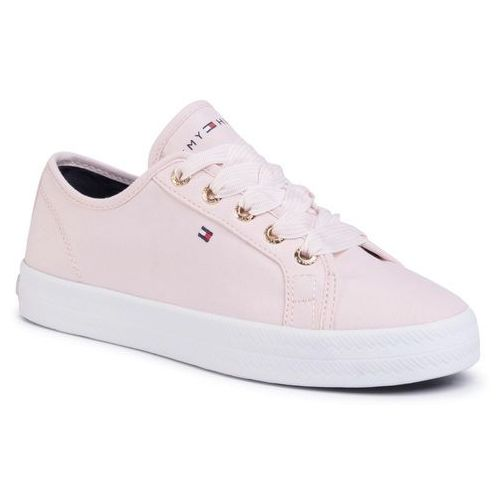 Sneakersy TOMMY HILFIGER - Essential Nautical Sneaker FW0FW04848 Pale Pink TJP