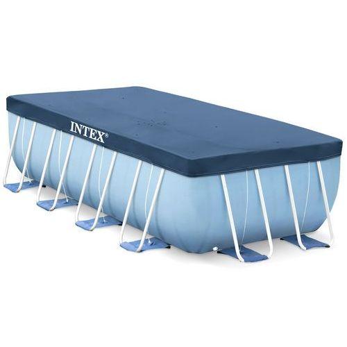 Intex Pokrywa na basen stelażowy prostokąt 450x220 cm dobrebaseny