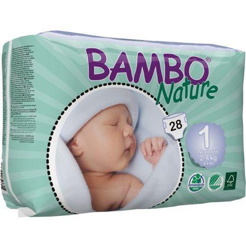 Eko Pieluszki Jednorazowe Newborn 2-4 kg (28szt.), Bambo Nature, ABENA, BAM949