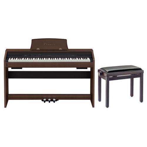 Casio PX-760 BN - PIANINO CYFROWE + ława stagg + Instrukcja PL z kategorii Fortepiany i pianina