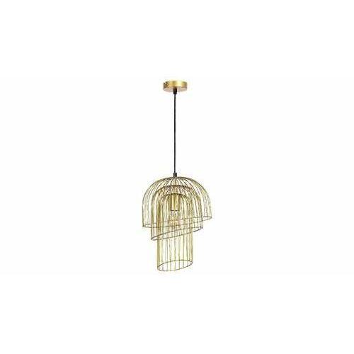 Rabalux 6228 Rowenta lampa wisząca zwis 1x60W E27 złota. (5998250362281)