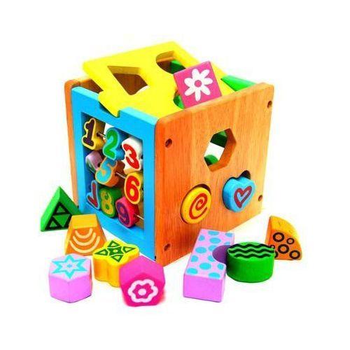 Zabawka Edukacyjna Drewniana Cyfry i Kształty (5901779362281)