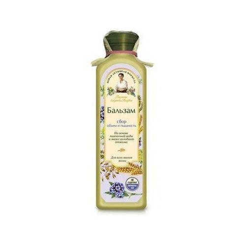 Babuszka agafia balsam do włosów jasny - blask i siła do wszystkich rodzajów włosów 350ml marki Pierwoje reszenie, rosja
