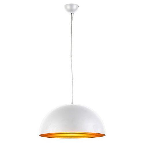 MODENA 40 LAMPA WISZĄCA FB6838-40 WHITE/GOLD AZZARDO, kolor biały,