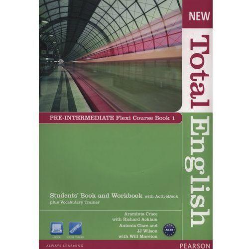 New Total English Pre-Intermediate Flexi Course Book 1 (2012)