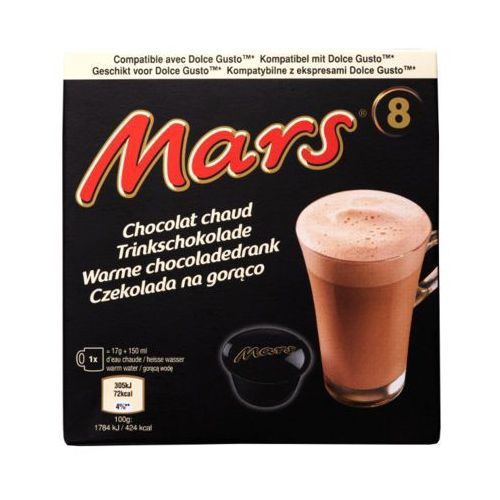 Mars 8szt czekolada na gorąco w kapsułkach marki Quest food