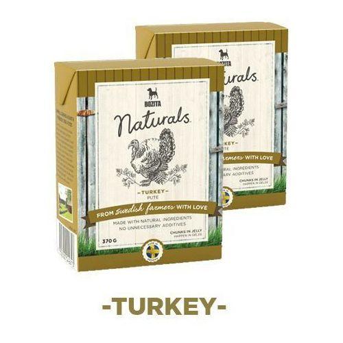 naturals z indykiem - karma dla psów, 370 g marki Bozita