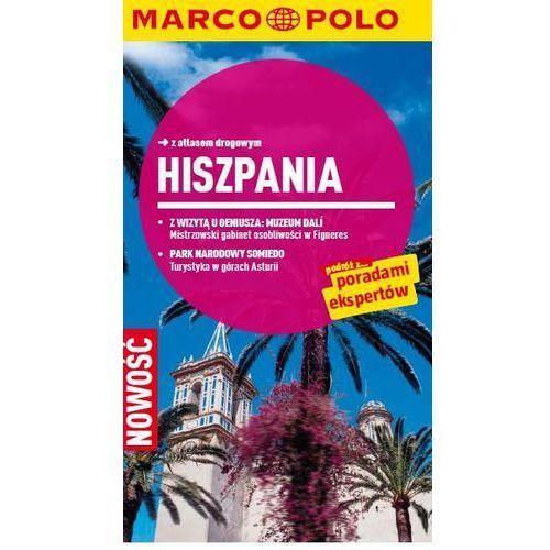Hiszpania. Przewodnik z atlasem drogowym - ŁÓDŹ, odbiór osobisty za 0zł!, oprawa broszurowa