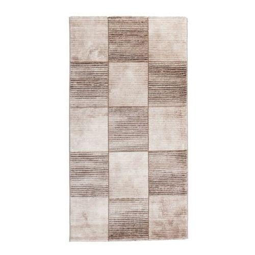 Dywan Tivoli 80 x 150 cm kwadraty beżowe (5907736249121)