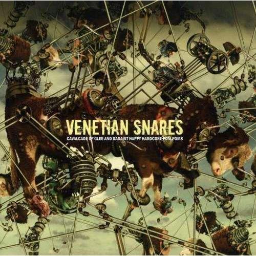 Beatplanet music Venetian snares - cavalcade of glee and dadaist happy hardcore pom poms