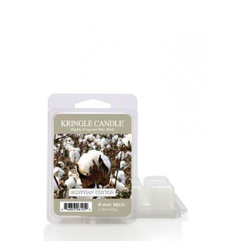 KRINGLE CANDLE WOSK ZAPACHOWY EGYPTIAN COTTON 64G