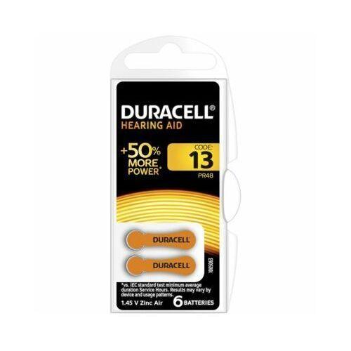 Duracell Baterie da13 hearing aid (6 szt.)