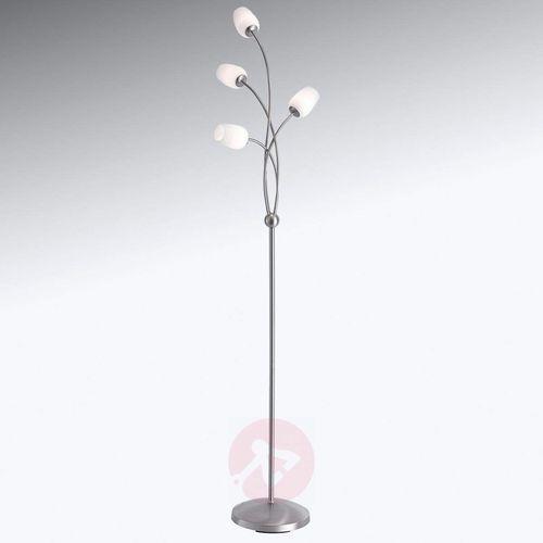 Paul Neuhaus ANASTASIA Lampa Stojąca LED Stal nierdzewna, 4-punktowe - Nowoczesny/Design - Obszar wewnętrzny - ANASTASIA - Czas dostawy: od 2-4 dni roboczych (4012248314630)
