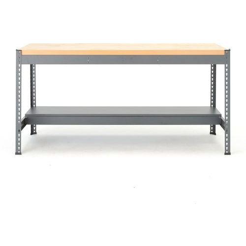 Stół warsztatowy combo, 915x1840x775 mm, dąb marki Aj produkty