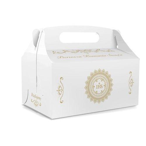 Ozdobne pudełko na ciasto komunijne - 1 szt.