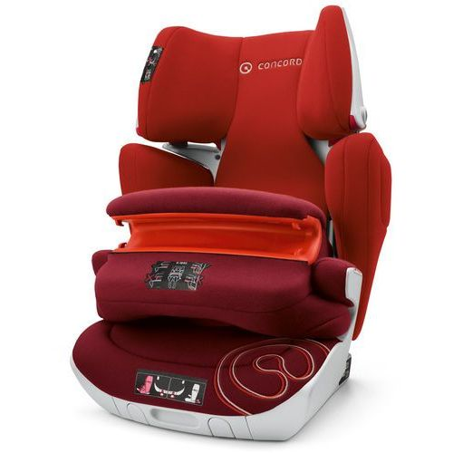 fotelik samochodowy transformer xt pro (9 -36 kg) - tomato red 2017 marki Concord