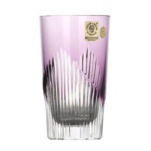 161931 Szklanka Mikado, kolor fioletowy, objętość 240 ml