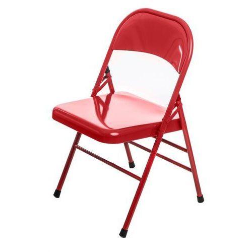 Krzesło Cotis Red - czerwony, kolor czerwony
