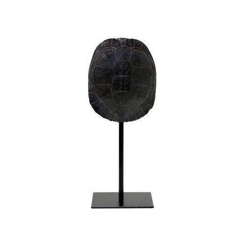 HK Living Czarna imitacja skorupy żółwia na metalowej podstawie AOA9929 (8718921014250)