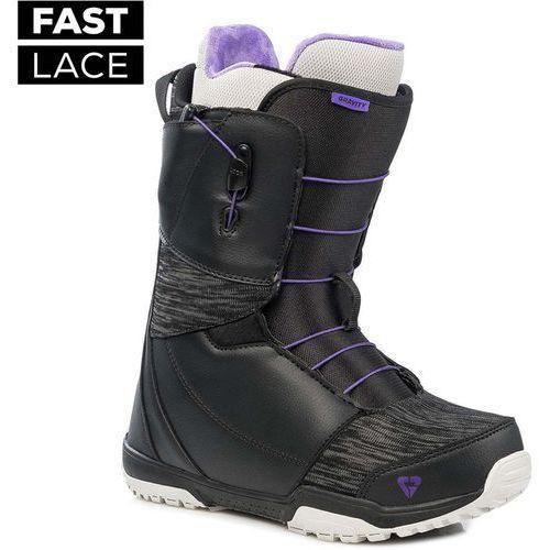 Buty - aura fast lace black/grey (black/grey) rozmiar: 39.5 marki Gravity