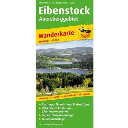 PublicPress Wanderkarte Eibenstock - Auersberggebiet (9783899204858)