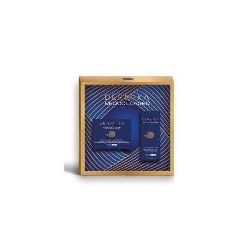 , zestaw prezentowy neocollagen 70+, krem odżywczy 50ml + krem pod oczy 15ml marki Dermika