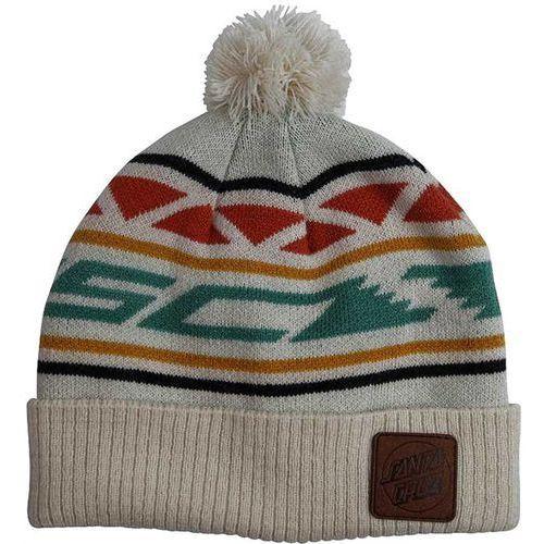 czapka zimowa SANTA CRUZ - Serape Bobble Vintage White (VINTAGEWHITE) rozmiar: OS