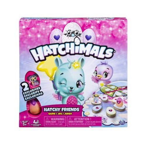 Gra hatchimals przyjaciele marki Spin master