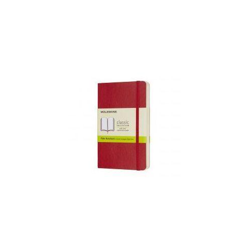 Notes Classic 9x14 gładki - czerwony MOLESKINE
