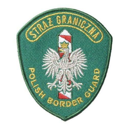 """Sortmund Emblemat naramienny straży granicznej mw """"polish border guard"""" - wyjściowy zielony"""