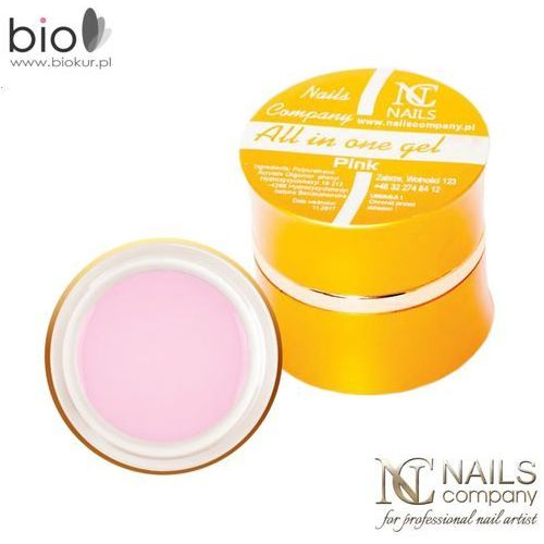 Gel all in one pink jednofazowy – – 15 g marki Nails company