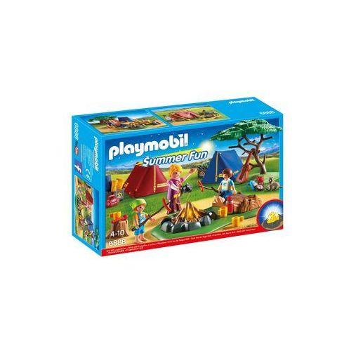 Playmobil FAMILY FUN Pole namiotowe z ogniskiem 6888