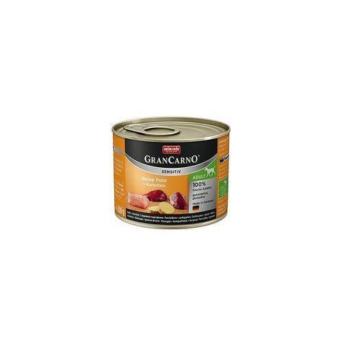 grancarno sensitiv indyk i ziemniaki 200g - lekkostrawna karma dla psów wrażliwych - zestaw 24szt. [dostawa od 8,59zł, firma rodzinna] marki Animonda