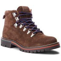 Trapery PEPE JEANS - Mountaineer Suede PMS50168 Dk Brown 898