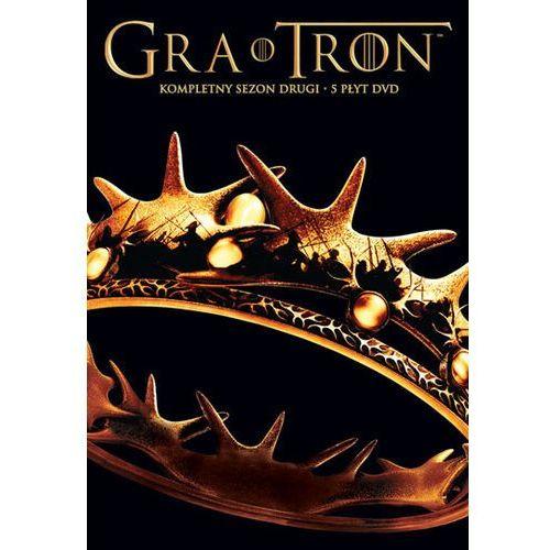 OKAZJA - Galapagos films Gra o tron, sezon 2 (5 dvd) 7321909323018